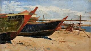 'Barcos de Pesca' de Aurélia de Sousa