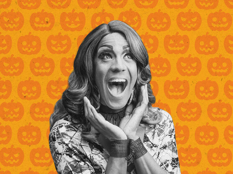 Trick or treat yo' self with a Drag Brunch coming to Time Out Market Montréal this Halloween