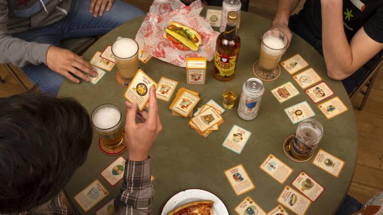 Chicago Handshake Drinking Card Game