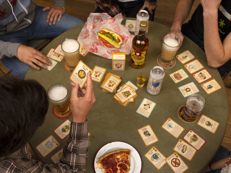 Test your trivia skills with this Chicago-themed drinking game