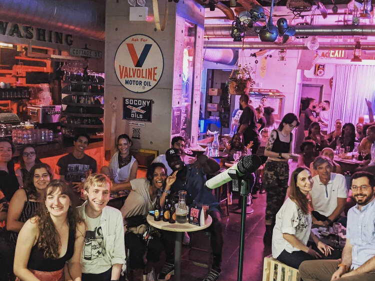 Comedy Nite Live (with free karaoke)