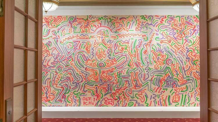 Keith Haring Fiorucci Walls