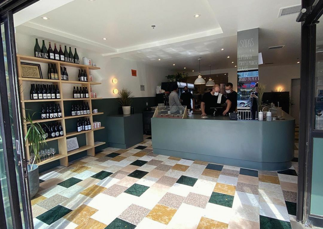This Mile End sandwich shop doubles down as one of Montreal's more promising wine shops