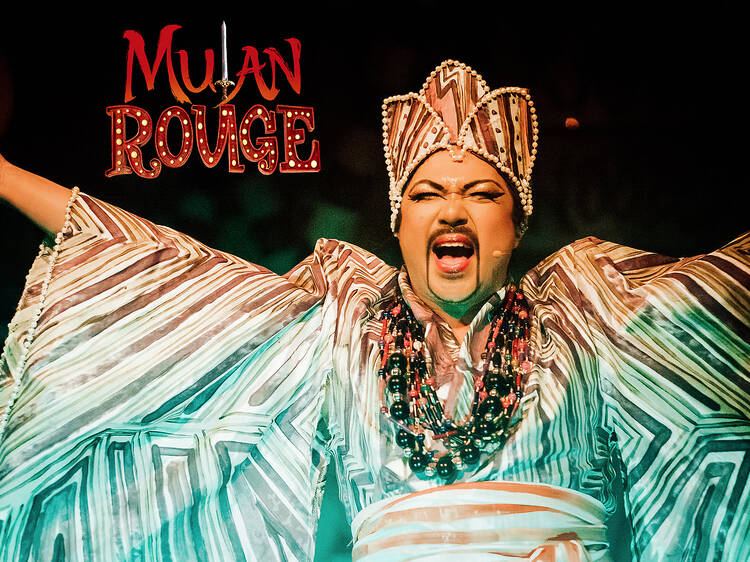 Mulan Rouge immersive dining experience