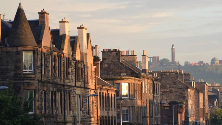 A view over Leith Walk in Edinburgh