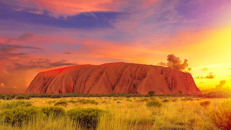Uluru in Australi