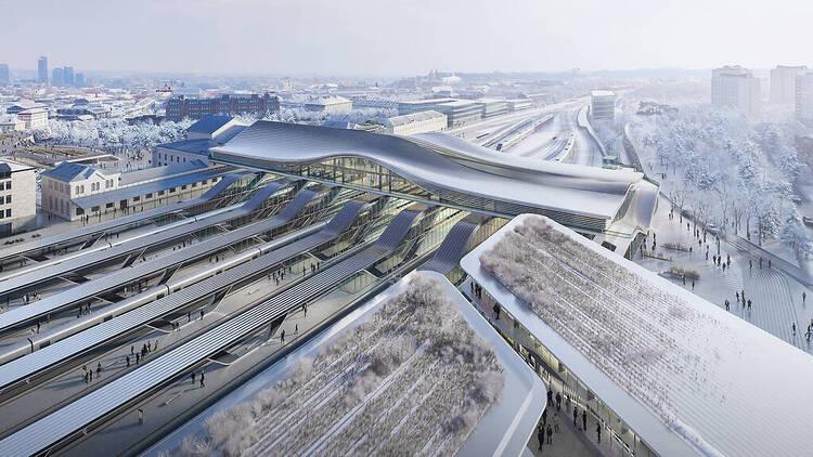 Vilnius Station render