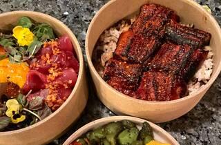 Kensho Food Eel Donburi and Chirashi Bowl