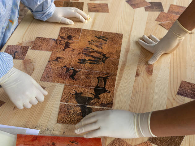 'Murals' al Museu d'Arqueologia