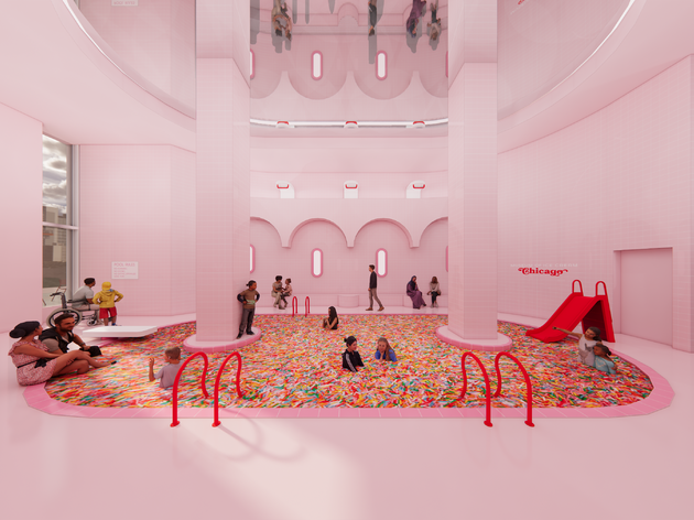 The Museum of Ice Cream is headed to Michigan Avenue