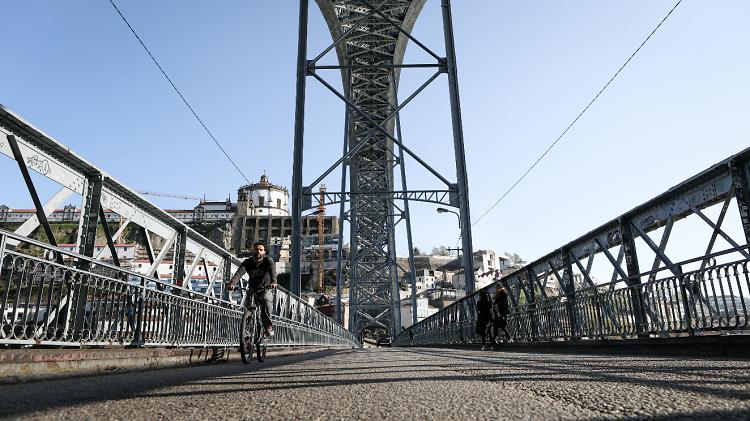 Tabuleiro inferior da Ponte Luís I