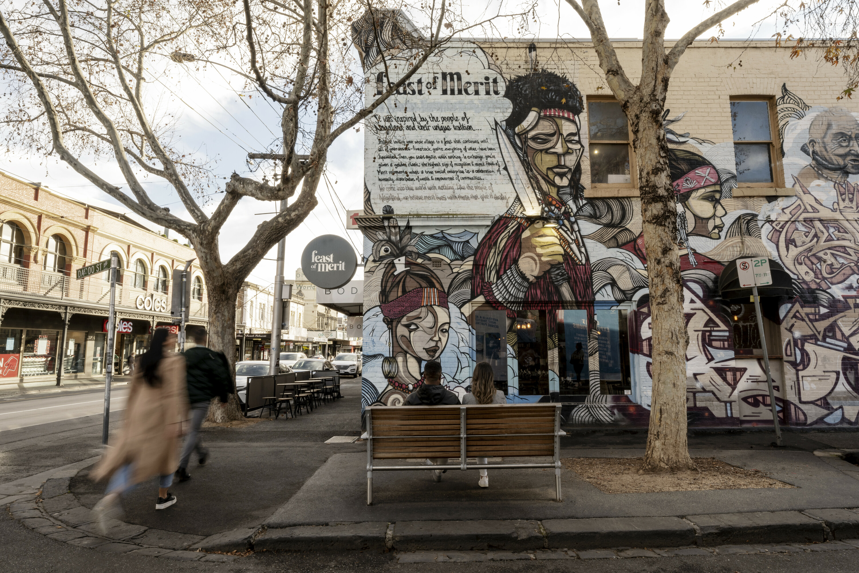Richmond has been voted the coolest neighbourhood in Australia