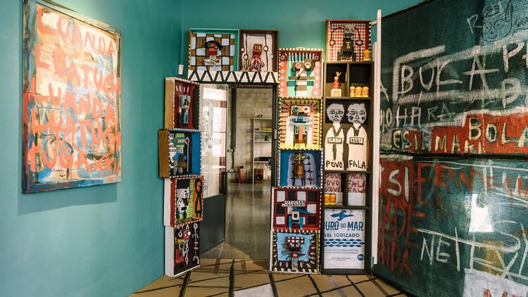 Arte, Galeria, Antecâmara – Rádio e Galeria