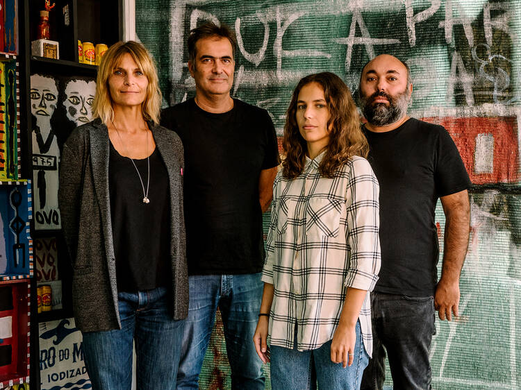 Alessia Allegri, Pedro Campos Costa, Catarina Esteves e Ivan Prego, Antecâmara – Rádio e Galeria