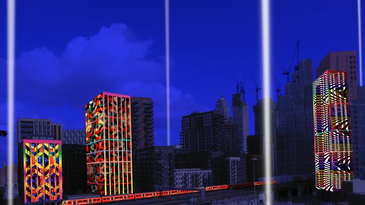 Line of Light, a three-kilometre light installation landing in Battersea