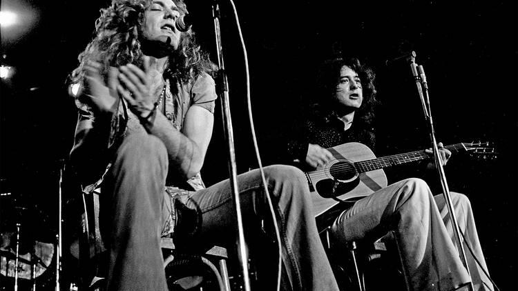 Música, Led Zeppelin, Acústico