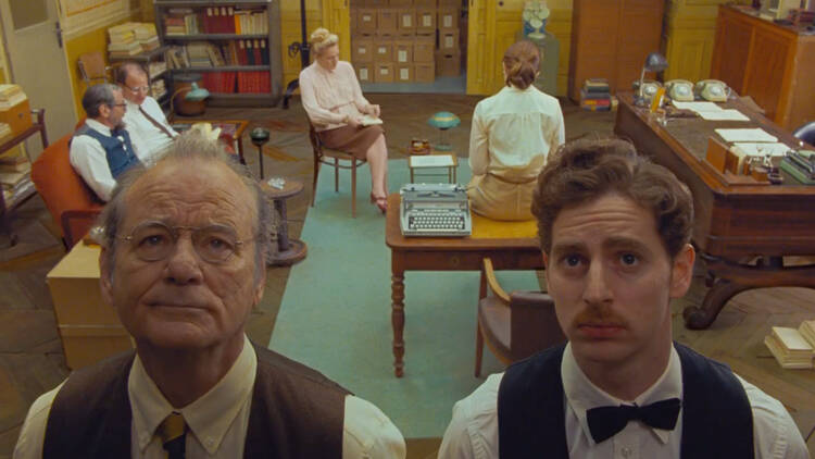 Wes Anderson de The French Dispatch