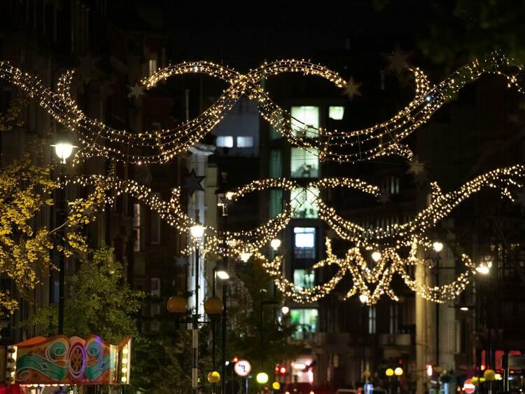 Marylebone Village Christmas Lights