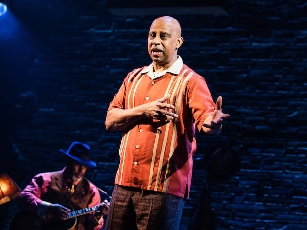 Ruben Santiago-Hudson and Junior Mack in Lackawanna Blues
