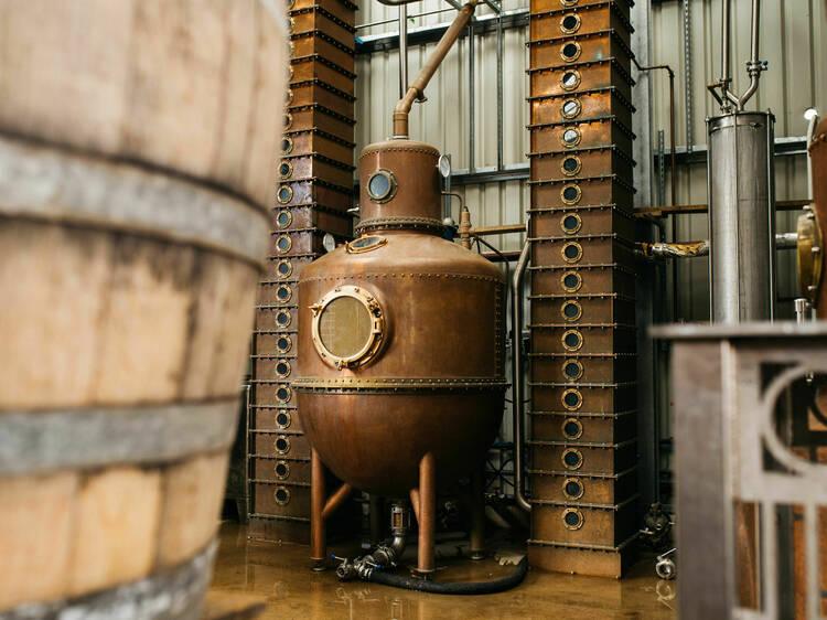 Take a tour of The Oxford Artisan Distillery