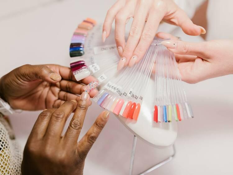 Get a mani-pedi at these nail salons