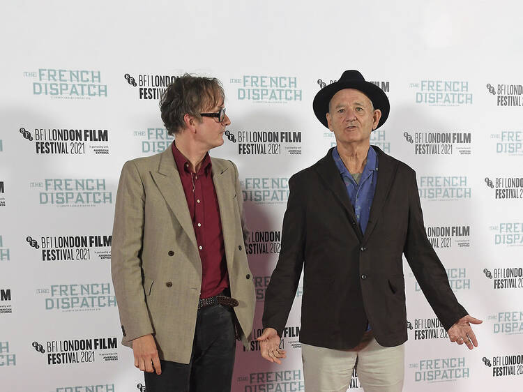 Bill Murray made a surprise appearance at the LFF – and brought news