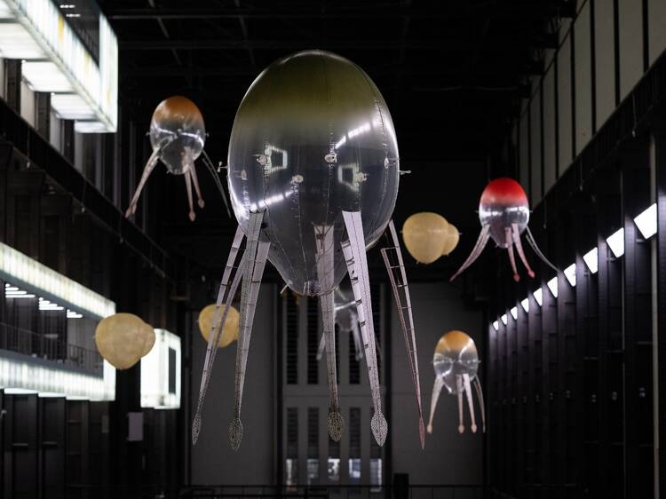 Witness Anicka Yi's squid robots floating around the Tate Modern