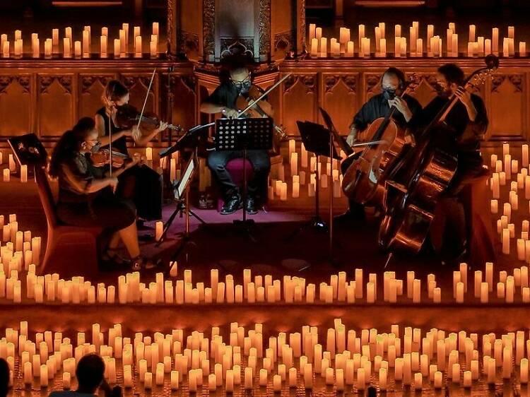 Concerto de Halloween à luz das velas