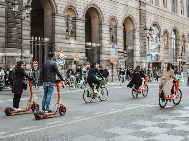 Paris has unveiled plans to become '100% cyclable' by 2026