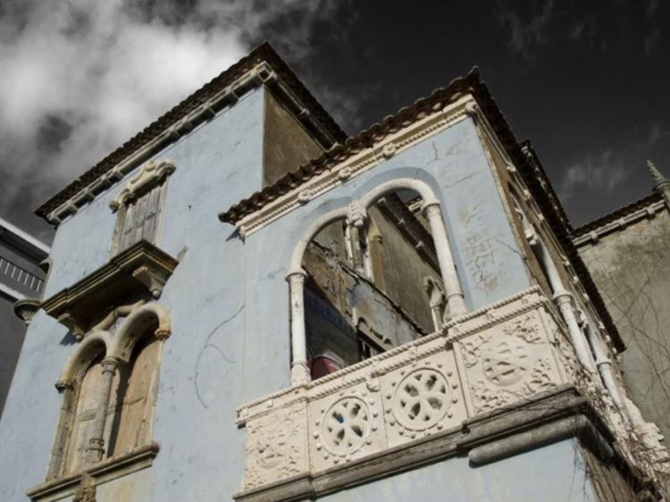 Casa do Relógio de Sol no Porto