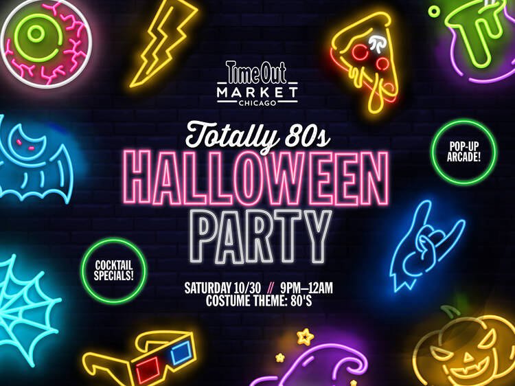 Totally '80s Halloween Party