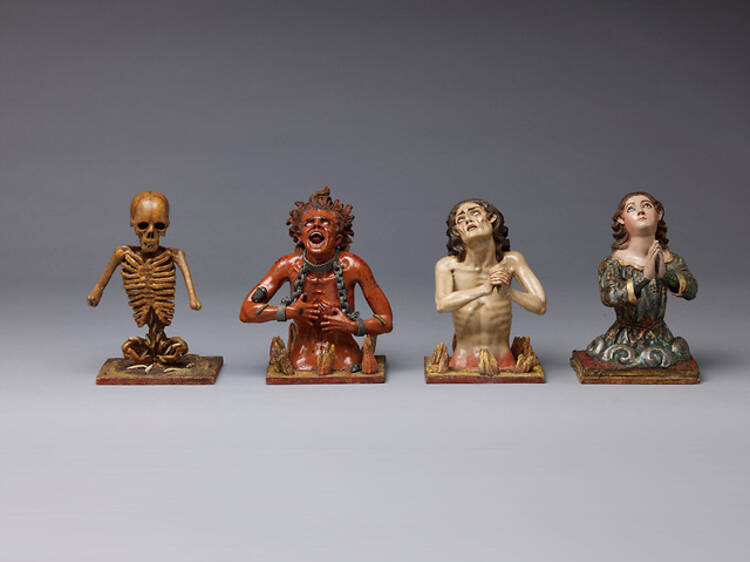 Gilded Figures: Wood and Clay Made Flesh