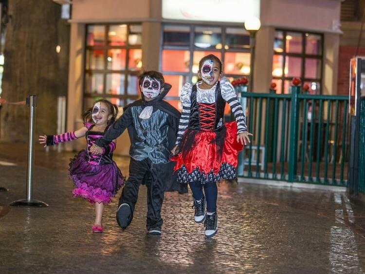 Halloween para niños en KidZania