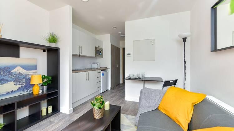 Inside London's pod homes