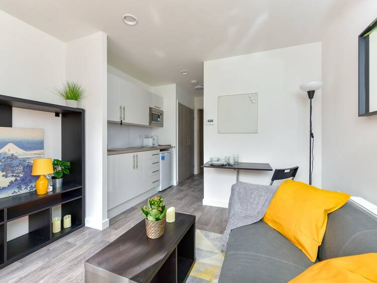 See inside London's first pod homes for the homeless