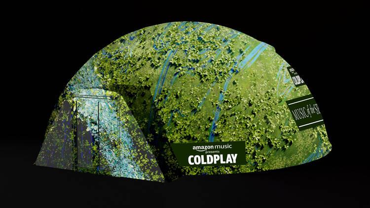 Coldplay AV experience