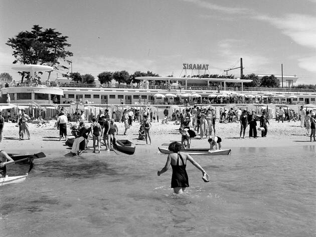 O Pátio das Antigas: As praias da Linha há 100 anos