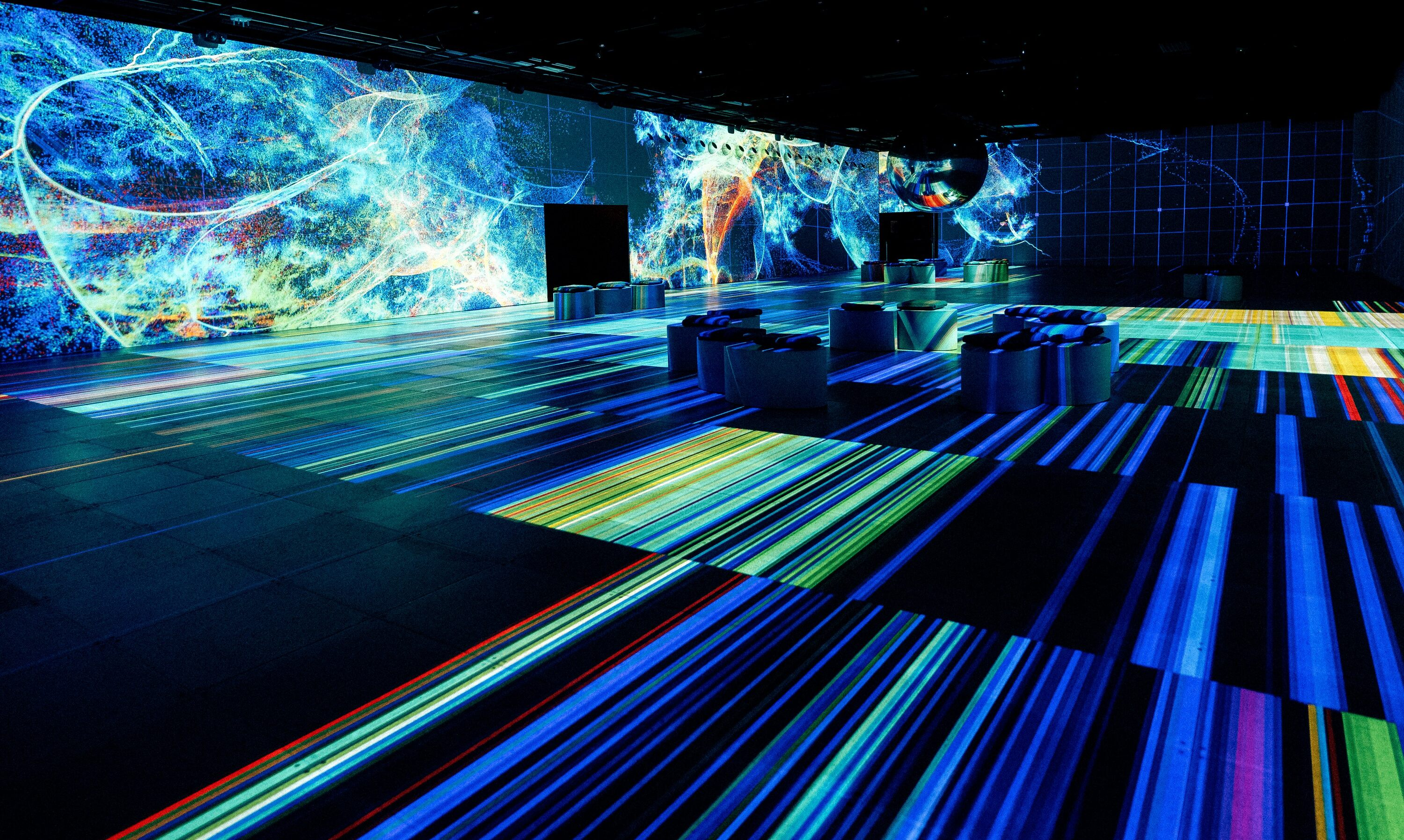 Montreal's OASIS Immersion, Canada's largest indoor immersive experience, has a new show (VIDEO)