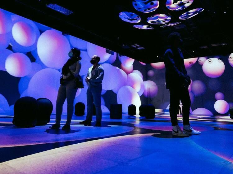 Un nouveau spectacle de sons et lumières à l'exposition OASIS Immersion de Montréal (VIDEO)