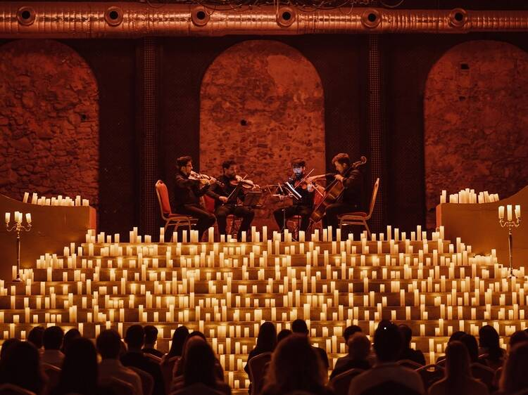 Candlelit Halloween concerts in a Montreal church