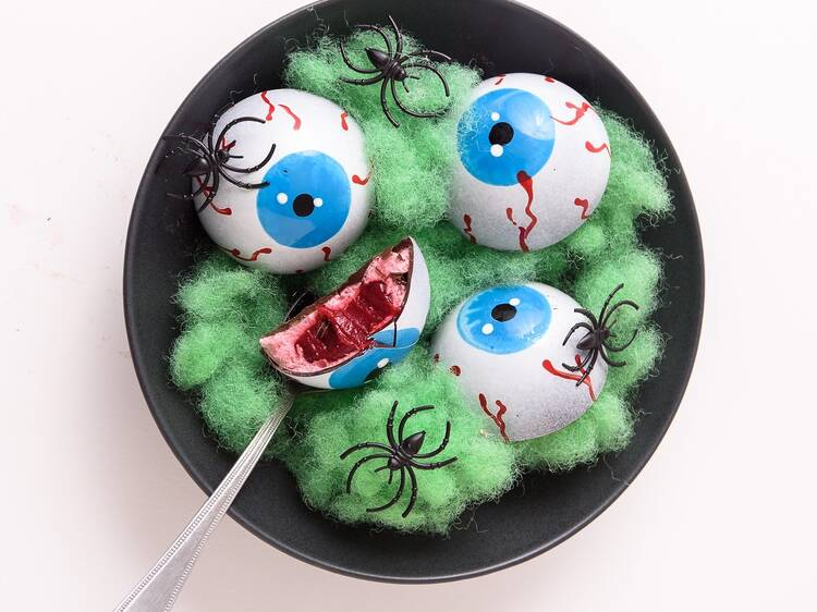 Get some Halloween-themed desserts and snacks