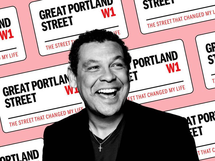 Craig Charles on the street that changed his life