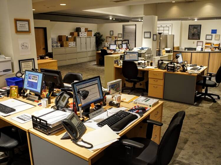 """Take a look inside of """"The Office Experience"""""""