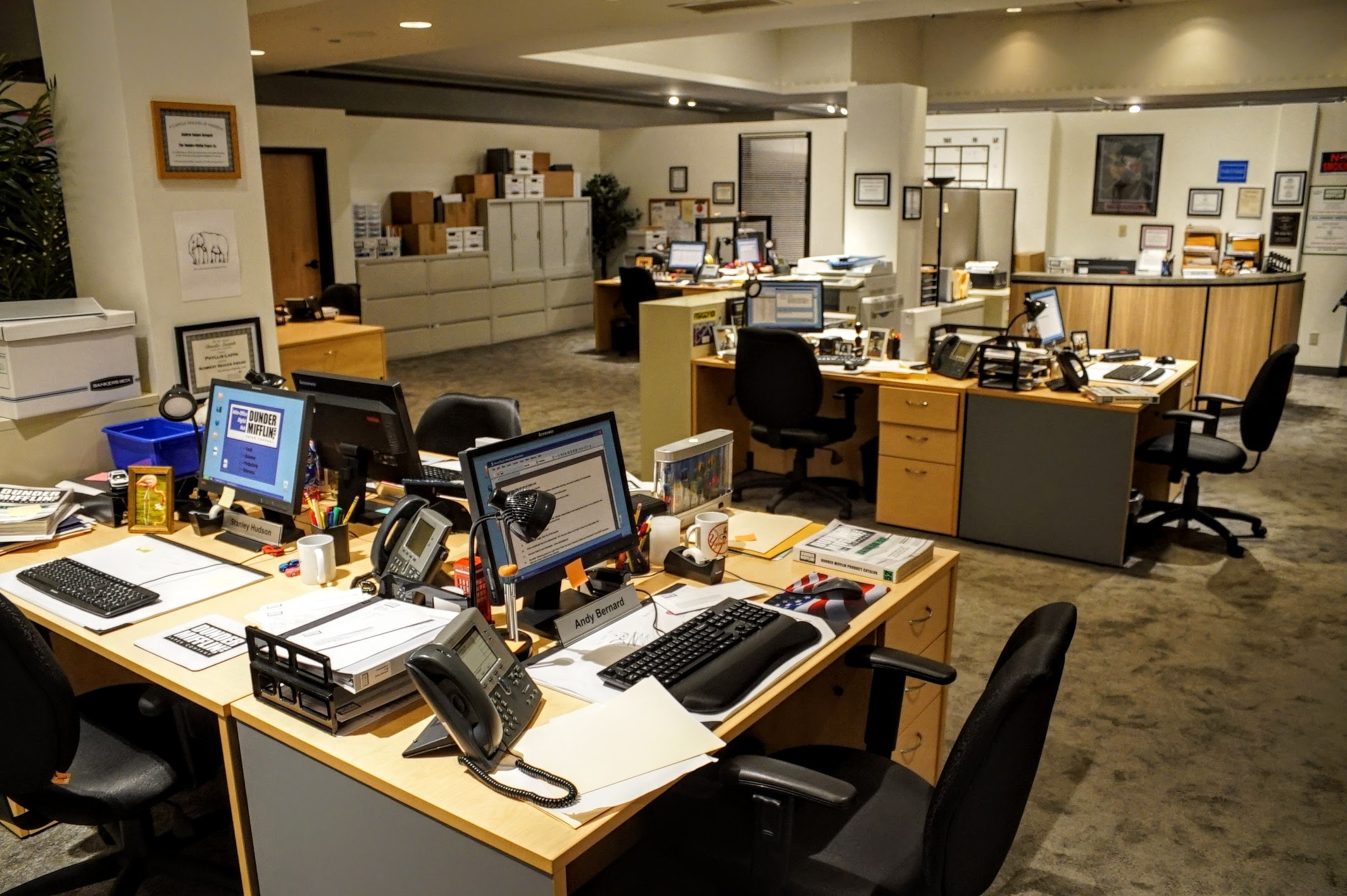 """Take a look inside of """"The Office Experience"""" pop-up in Chicago"""