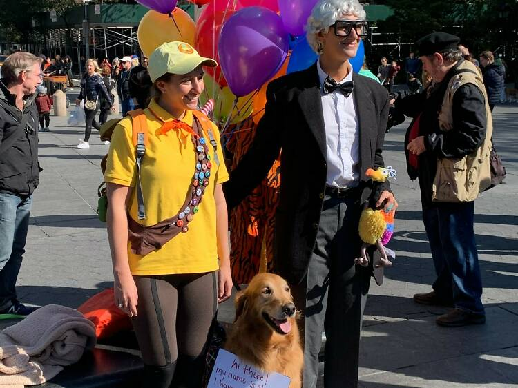 Washington Square Park Dog Run Halloween Parade and Costume Contest
