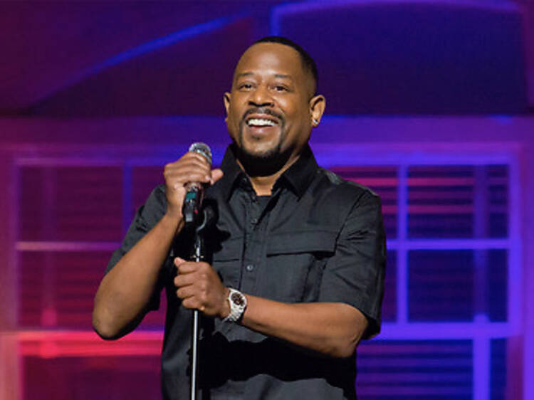 Martin Lawrence + Earthquake + Donnell Rawlings