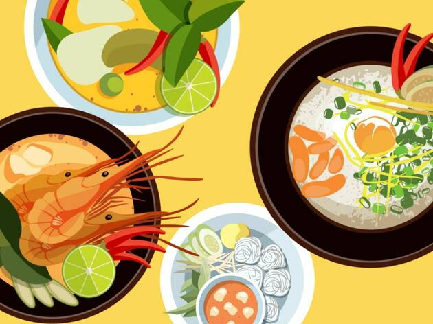 What's your perfect Thai food plate?