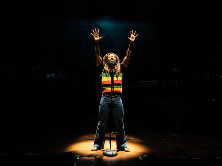 'Get Up, Stand Up! The Bob Marley Musical' review