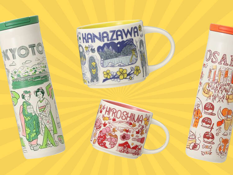 Starbucks Japan releases new mugs and tumblers for different prefectures