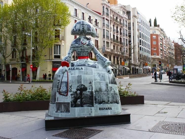 Las Meninas vuelven a llenar las calles de Madrid